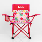 Kids Camp Chair Personalised - Tropical