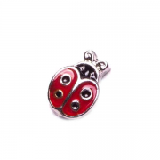 Animal Charm for Floating Memory Locket - Ladybeetle