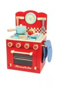 Red Oven and Hob Set - for toddlers / kids by Le Toy Van