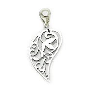 Leaf Dangle Dangle for Floating Memory Locket