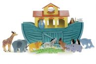 Noah Great Ark Wooden Toy for toddlers / kids by Le Toy Van