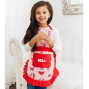 Apron Personalised for Kids / Girl Cupcakes (Personalised)