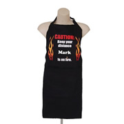 Apron Personalised For Dad  - Caution