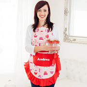 Apron Personalised For Mum  - Cupcake