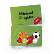 Personalised Bag Tags All Sports Balls - Bag Tag