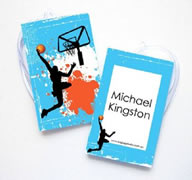 Personalised Bag Tags Basketball - Bag Tag