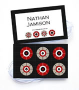 Personalised Bag Tags Casino Royale Carbon - Bag Tag