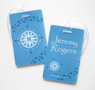 Personalised Bag Tags Compass - Bag Tag