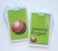 Personalised Bag Tags Cricket Pro - Bag Tag