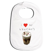 Bib Personalised for Baby - Babycino