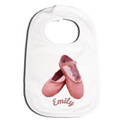 Bib Personalised for Baby - Ballet
