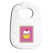 Bib Personalised for Baby - Chef Cupcake