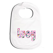 Bib Personalised for Baby - Colour Spots