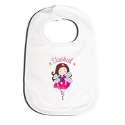 Bib Personalised for Baby - Fairy Ballerina