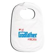Bib Personalised for Baby - Godfather Rocks