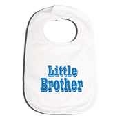 Bib Personalised for Baby - Little Brother