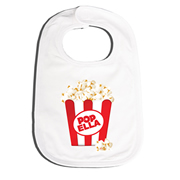 Bib Personalised for Baby - Pop Corn