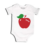 Apple - Bodysuit Personalised for Baby