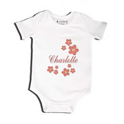 Apricot Patch - Bodysuit Personalised for Baby