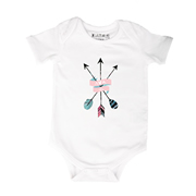 Arrow Scroll - Bodysuit Personalised for Baby