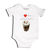 Babycino - Bodysuit Personalised for Baby