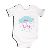 Cloud - Bodysuit Personalised for Baby