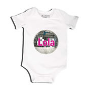Disco Ball - Bodysuit Personalised for Baby