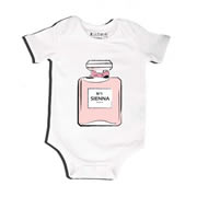 E Du Parfum - Bodysuit Personalised for Baby