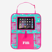 Car Organiser Personalised for Kids  - Flamingo