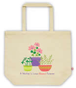 Carry Bag / Canvas Tote Bag Personalised for kids  - Mothers Love