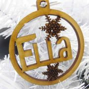 .Bauble Christmas - MDF