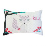 .Personalised Cushion for kids - Foxy Girl Design