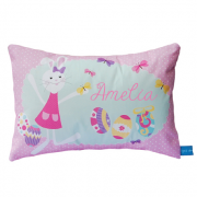 .Personalised Cushion for kids - Girls Easter Design