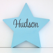Personalised Engraved Wooden Freestanding Shapes  - Star