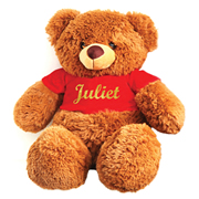 Personalised Teddy Noel Red - Heat Pressed