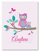 Fleece Blanket Personalised for Kids - Andrea