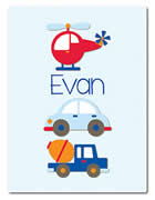 Fleece Blanket Personalised for Kids - Evan