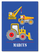 Fleece Blanket Personalised for Kids - Marcus