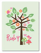 Fleece Blanket Personalised for Kids - Ruby