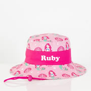 .Hat - Kids Bucket Hat Personalised - Enchanting Mermaid