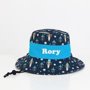 .Hat - Kids Bucket Hat Personalised - Rocket