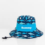 .Hat - Kids Bucket Hat Personalised - Shark
