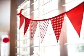 Bunting - CUSTOM banner with NO LETTERING REQUIRED- you choose colour theme pattern