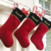 "Christmas Stocking for Kids Personalised Classic 16"" Heat Pressed"
