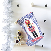 Christmas Stocking for Kids Personalised  - Nutcracker