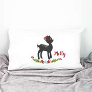 .Personalised Kids Pillowcase Fawn