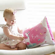 Personalised Cushion for kids - Little Lamb