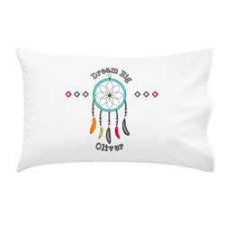 .Personalised Kids Pillowcase - Dreamcatcher Boys