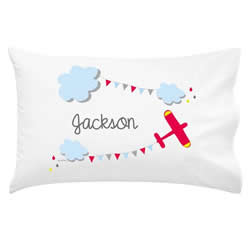 .Personalised Kids Pillowcase - Sky High