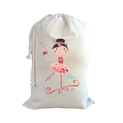 .Christmas Santa Sack Personalised - Ballerina